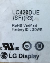 LG , LC420DUE SF R3 , 42LN575S , AX042DLD12AT070 , 6916L-1385A , 6916L-1386A , 6916L-1387A , 6916L-1388A , 10 ADET LED ÇUBUK