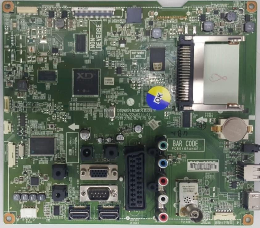 61923002 , EAX64722402 , (1.0) , LG , 26LT640 , Main Board , Ana Kart