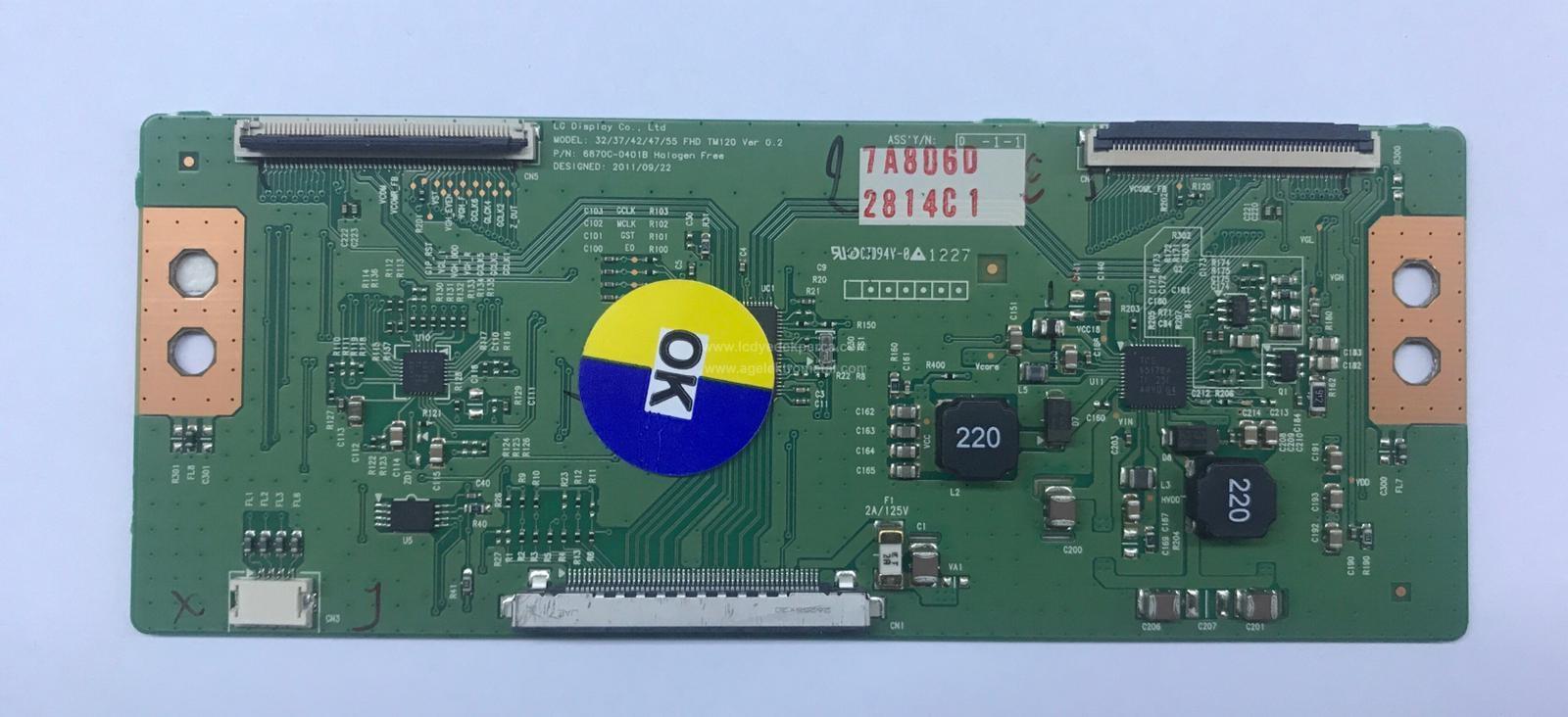 6870C-0401B , 32/37/42/47/55 FHD , LC320EUN-SE-M1 , Logic Board , T-con Board