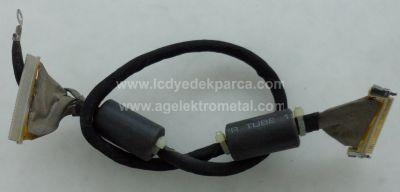 AT-3737 LCD , SUNNY , T370XW01 V1 , LVDS Cable , Lvds Kablosu , Logic Board Cable , Logic Kart Kablosu , Ctrl Board Cable , Ctrl Kart Kablosu