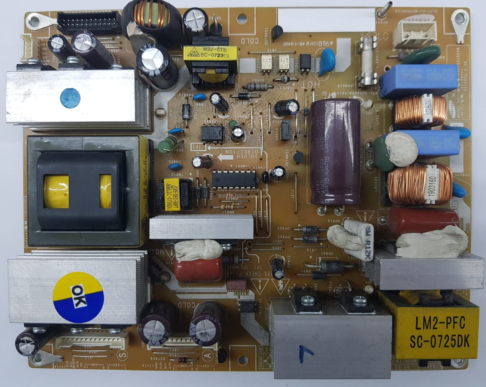 BN44-00156A , PSLF201502B , SAMSUNG , V260B1-L04 , LE26S81B , Power Board , Besleme Kartı , PSU