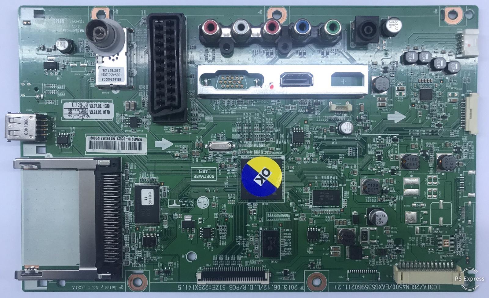 EBU62120009 , EAX65359602 , (1.2) , 328041561 , Main Board , Ana Kart