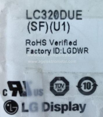 LG , LC320DUE SF U1 , 32LA620S , 6916L-1107A , 6916L-1108A , 3 ADET LED ÇUBUK
