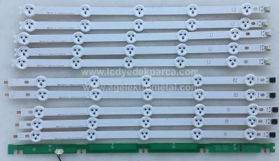 LG , LC420DUE SF R3 , 42LN5400 , YUMATU , 6916L-1385A , 6916L-1386A , 6916L-1387A , 6916L-1388A , 10 ADET LED ÇUBUK