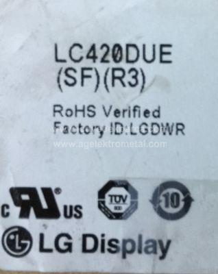 LG , LC420DUE SF R3 , 42LN575S , AX042DLD12AT070 , 6916L-1385A , 6916L-1386A , 6916L-1387A , 6916L-1388A , 10 ADET LED ÇUBUK