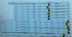 PHILIPS - PHILIPS , TPT420H2-HVN04 , TPT420H2-DUJFFE , 42PFL3108 , 42PFL3208 , /K12 , LBM420P0601-CA-3 , LBM420P0501-CB-4 , 12 ADET LED ÇUBUK