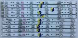 SAMSUNG - SAMSUNG , CY-DE400BGSV1V , UE40EH5000 , 2012SVS40 3228 RIGHT06 REV1.5 , 10 ADET LED ÇUBUK