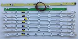VESTEL - VESTEL , VES480UNDS-2D-N01 , 48FA5000 , LED TV , 48DLED_B-TYPE_REV01 , 48DLED_A-TYPE_REV01 , 7 ADET LED ÇUBUK