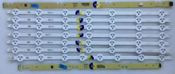 VESTEL - VESTEL , VES490UNDL-2D-N01 , HI-LEVEL , 49HL600 , 49DLED_A-TYPE_REV00 , 7 ADET LED ÇUBUK